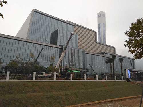 中山焚烧发电厂白蚁防治案例