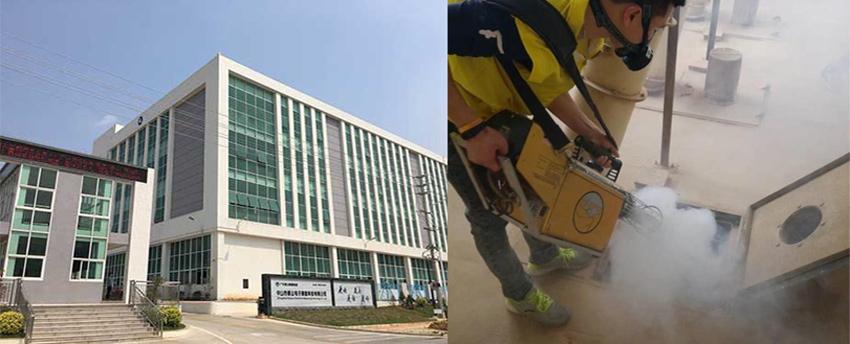 中山市香山电子测量科技有限公司白蚁防治施工服务